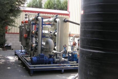 Planta microfiltración 12 m3/h